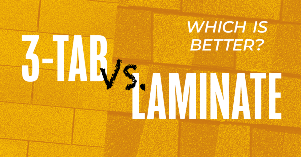 3 Tab vs Laminate Shingles